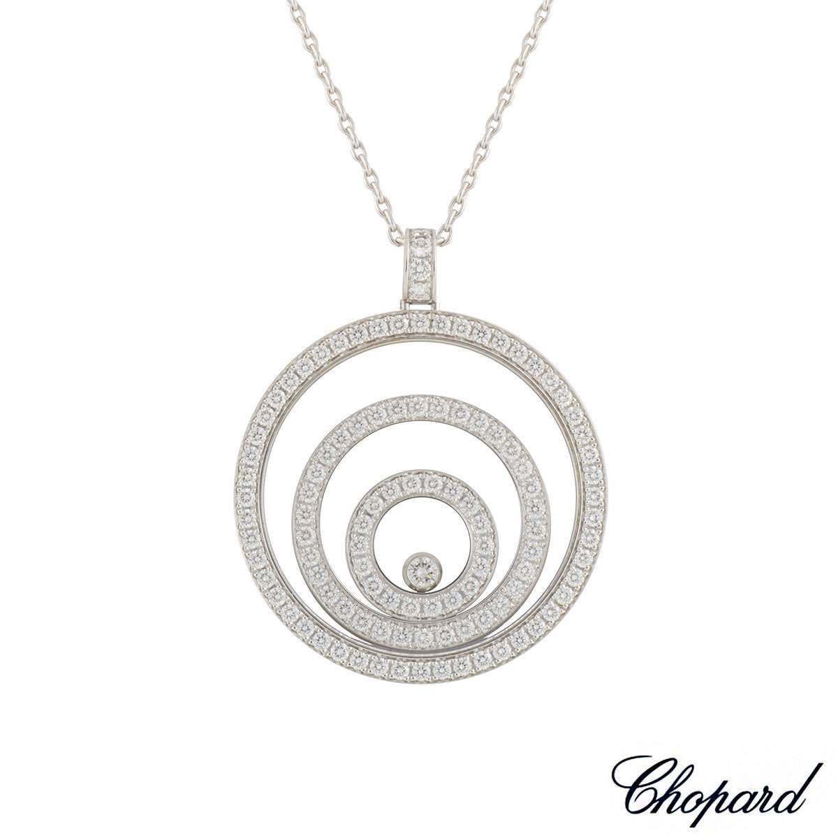 Chopard happy spirit diamond pendant 7954230 20 rich diamonds chopard happy spirit diamond pendant 7954230 20 mozeypictures